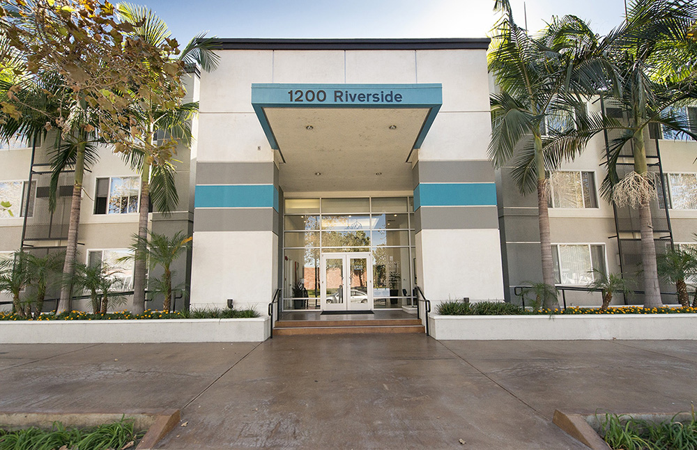 1200 Riverside Exterior Entrance